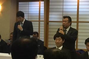 06大隅会長、吉村次年度会長単会活動報告