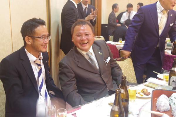 山口県商工会議所青年部 忘年会様子10