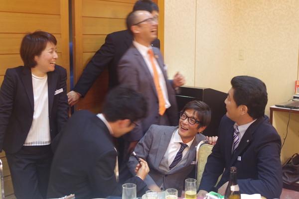 山口県商工会議所青年部 忘年会様子11
