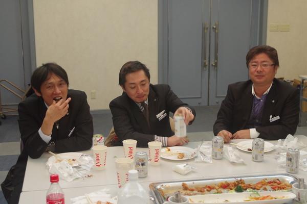 17-1懇親会中